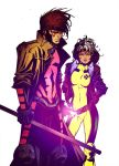 90s Rogue and Gambit by Dante-Picasso