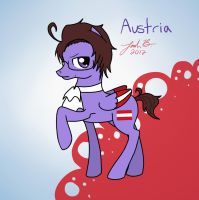 My Little Hetalia: Austria by Cisol