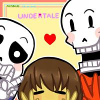 Me and My Skeleton Bestfriends by nichandesu