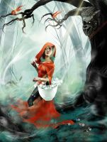 Little Red Riding Hood - Baiting Prey by ArtFrak