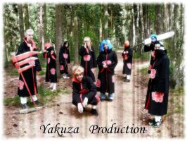 Yakuza Cosplay Production as Akatsuki by YakuzaProduction