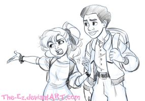 Abi and Larry - August 2014 by The-Ez