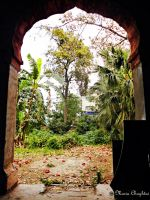 View from an Old House in Lahore by mariachughtai