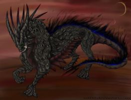 Underworld Beast by LaughingSkeleton