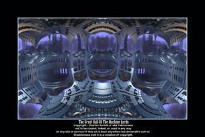 The Great Hall Of The Machine Lords by fraterchaos