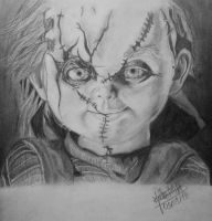 Child's Play-Chucky by LaurenDahmer