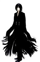 a coat with fringes by Verric