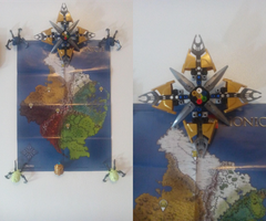 Okoto Map + Compass MOC by Chrisx31