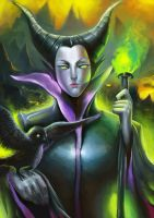 Maleficent by LuXame