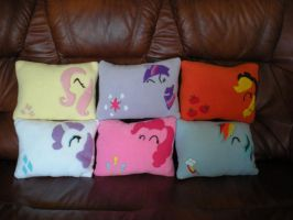 Brony Pillow collection by spiritimvu
