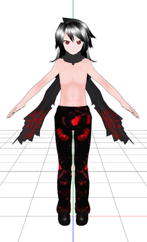MMD Newcomer: Alastor Human Disguise 1 by CrazyKid10
