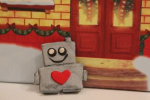A Robot with A Heart by OfficialMaryRose