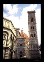 Florence bell tower by americanina