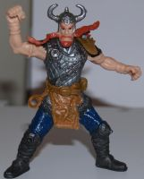 Repainted viking toy by shadowcast89