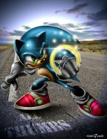 Sonic the Hedgehog Colab. by guerotheartist