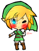 mini chibi: link by jorsu