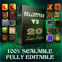 Photoshop styles collection v3 by Rocco965