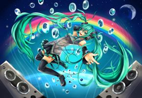 Miku: Move the World by redlunar