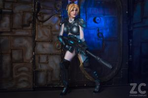Nova from Heroes of the Storm by Jane-Po