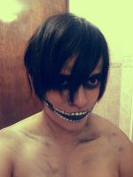 Titan Eren (Make-Up) by Vicky00