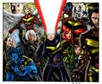 Xmen Color Colab by Thuddleston