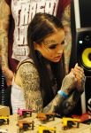 MONAMI FROST  __WarsawTattooConvention2013 by arkadiusz666