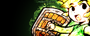 green signature by Robotesent