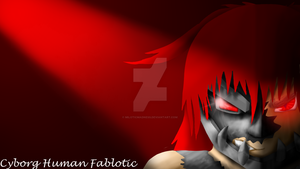 Cyborg Human Fablotic Background by Miloticmadness