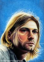 Kurt Cobain, Nirvana drawing by Bajan-Art