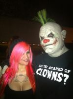 FOUND A CLOWN by lachick4