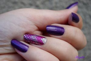 Nail Art Bling Bling by Angelik23