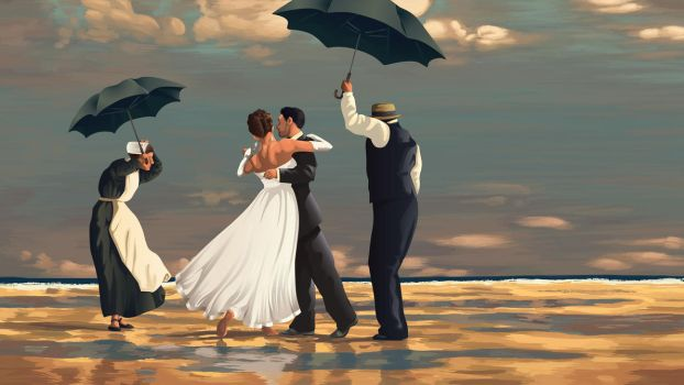 Wedding Dance on the Beach by Zhaana