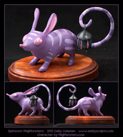 Commission : Spiricoot - MajiMonsters by emilySculpts