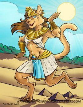 Sand Dance Commission by lady-cybercat
