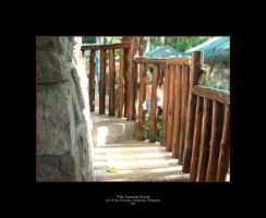 Cottage Stairs by thenonhacker