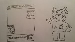 University Mascots Collection-Texas A and M by Gemmygod