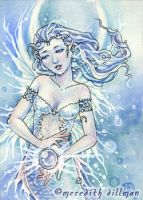 Pearl ACEO by MeredithDillman