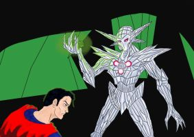 Superman Vs Brainiac... by adamantis