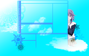 Shirayuki Mizore YT Background by HarryKayan