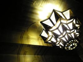 Art deco light fixture by hecestmoi