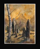 Montneuf megaliths by sanderus