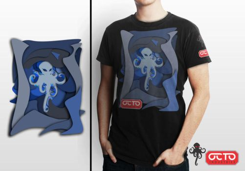 octo shirt design by maqmars