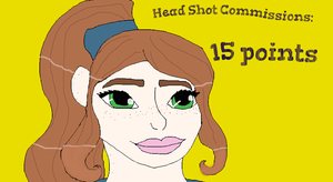 Head Shot Commissions OPEN by G-hearts