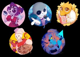 Undertale by Kimmiko