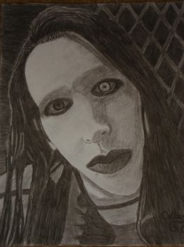 Marilyn Manson by speed-of-pain