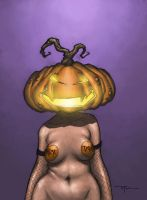 Jacky Lantern by johnnyrocwell