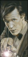 Matt Smith - The 11th Doctor by caldwellart