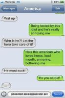 Texting America by luckygirl50