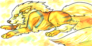 [Fanart] Arcanine by ReaperShadCat