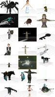 MMD Twilight Princess Items 5+ by Valforwing